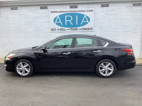 2014 Nissan Altima for sale at ARIA  AUTO  SALES in Raleigh NC