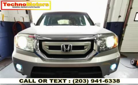 2009 Honda Pilot for sale at Techno Motors in Danbury CT