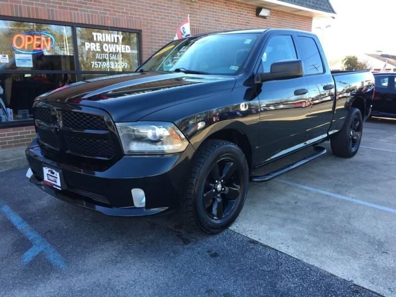 2014 RAM Ram Pickup 1500 for sale at Bankruptcy Car Financing in Norfolk VA
