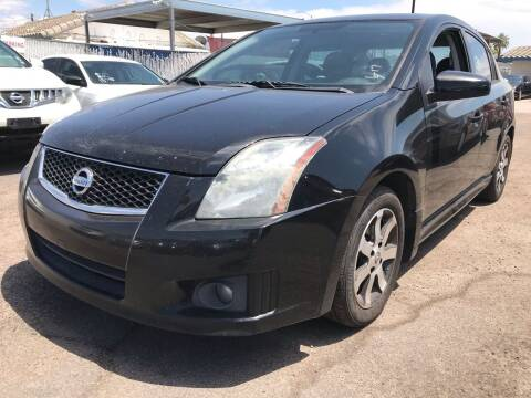 2012 Nissan Sentra for sale at Town and Country Motors in Mesa AZ