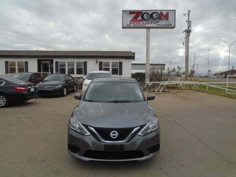 2017 Nissan Sentra for sale at Zoom Auto Sales in Oklahoma City OK