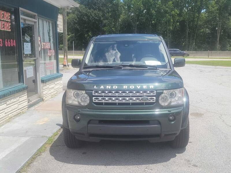 2012 Land Rover LR4 for sale at 5 Starr Auto in Conyers GA