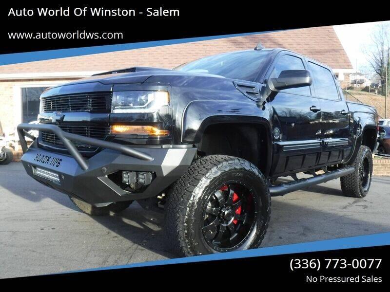 2018 Chevrolet Silverado 1500 for sale at Auto World Of Winston - Salem in Winston Salem NC