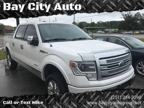 2013 Ford F-150 for sale at Bay City Auto's in Mobile AL