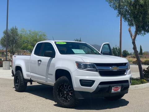 2017 Chevrolet Colorado for sale at Esquivel Auto Depot in Rialto CA