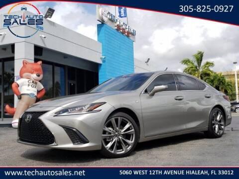 2019 Lexus ES 350 for sale at Tech Auto Sales in Hialeah FL