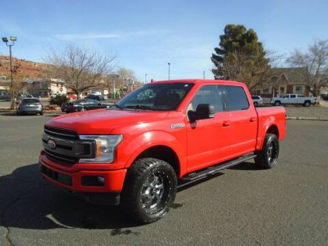 2018 Ford F-150 for sale at Team D Auto Sales in St George UT