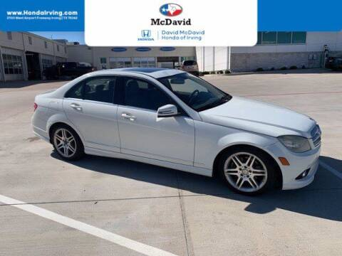 2010 Mercedes-Benz C-Class for sale at DAVID McDAVID HONDA OF IRVING in Irving TX