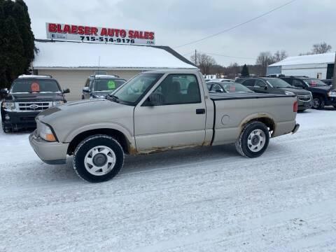 2000 GMC Sonoma for sale at BLAESER AUTO LLC in Chippewa Falls WI