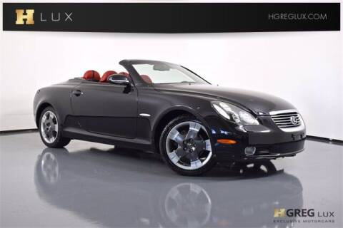 2005 Lexus SC 430 for sale at HGREG LUX EXCLUSIVE MOTORCARS in Pompano Beach FL