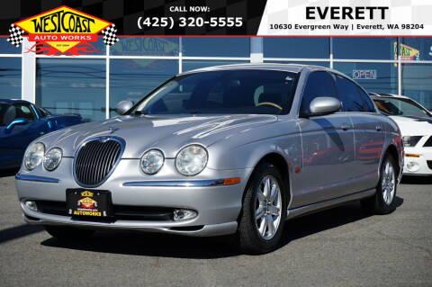 2003 Jaguar S-Type for sale at West Coast Auto Works in Edmonds WA