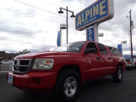 2008 Dodge Dakota for sale at Alpine Auto Sales in Salt Lake City UT