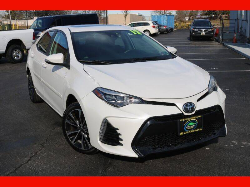 2017 Toyota Corolla for sale at AUTO POINT USED CARS in Rosedale MD