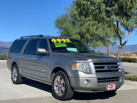 2008 Ford Expedition EL for sale at Esquivel Auto Depot in Rialto CA