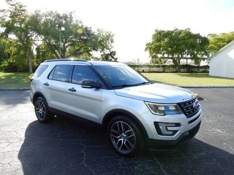 2016 Ford Explorer for sale at SUPER DEAL MOTORS 441 in Hollywood FL