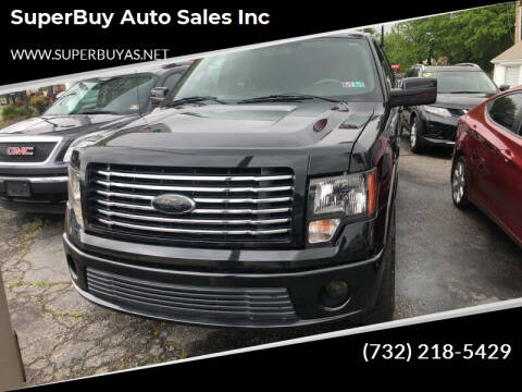 2012 Ford F-150 for sale at SuperBuy Auto Sales Inc in Avenel NJ
