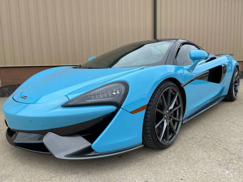 2018 McLaren 570S Spider for sale at Prime Auto Sales in Uniontown OH