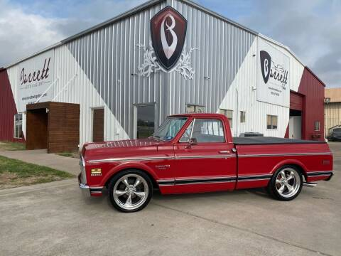 1971 Chevy C10 Deluxe for sale at Barrett Auto Gallery in San Juan TX