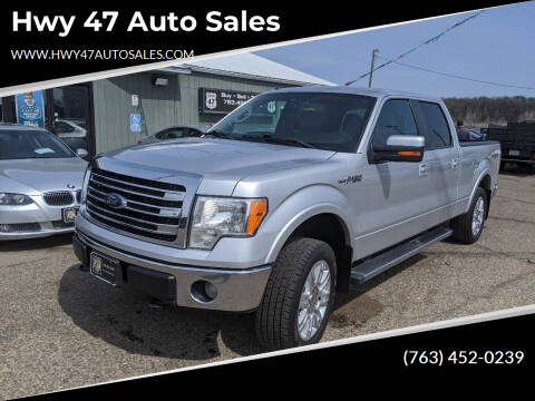 2013 Ford F-150 for sale at Hwy 47 Auto Sales in Saint Francis MN
