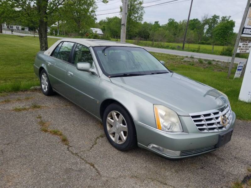 2006 Cadillac DTS for sale at David Shiveley in Mount Orab OH