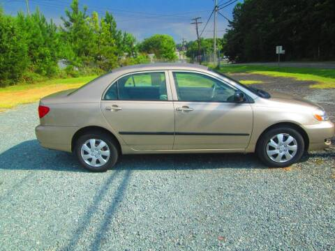 2006 Toyota Corolla for sale at Wright's Auto Sales in Lancaster SC