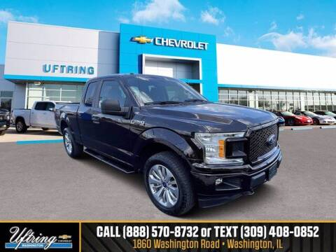 2018 Ford F-150 for sale at Gary Uftring's Used Car Outlet in Washington IL