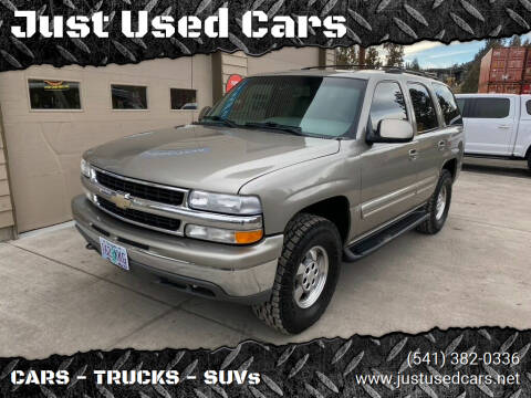 2001 Chevrolet Tahoe for sale at Just Used Cars in Bend OR