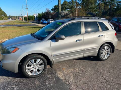 2010 Acura RDX for sale at TOP OF THE LINE AUTO SALES in Fayetteville NC