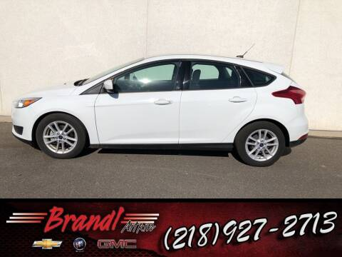 2018 Ford Focus for sale at Brandl GM in Aitkin MN
