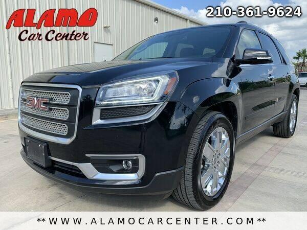 2017 GMC Acadia Limited for sale at Alamo Car Center in San Antonio TX