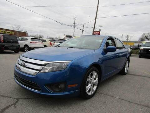 2012 Ford Fusion for sale at A & A IMPORTS OF TN in Madison TN