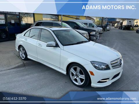 2011 Mercedes-Benz C-Class for sale at Adams Motors INC. in Inwood NY