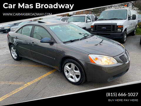 2007 Pontiac G6 for sale at Car Mas Broadway in Crest Hill IL