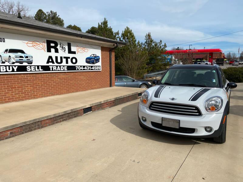 2014 MINI Countryman for sale at R & L Autos in Salisbury NC