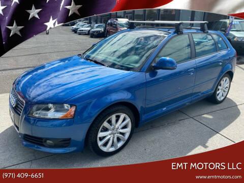 2009 Audi A3 for sale at EMT MOTORS LLC in Portland OR