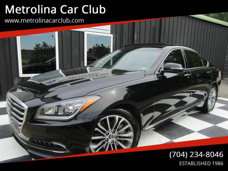 2015 Hyundai Genesis for sale at Metrolina Car Club in Matthews NC