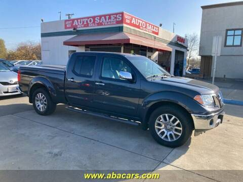 2013 Nissan Frontier for sale at About New Auto Sales in Lincoln CA