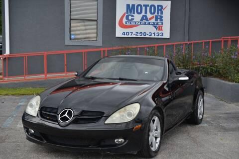 2006 Mercedes-Benz SLK for sale at Motor Car Concepts II - Kirkman Location in Orlando FL