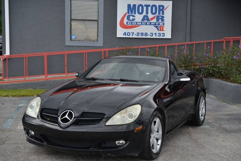 2006 Mercedes-Benz SLK for sale at Motor Car Concepts II - Colonial Location in Orlando FL