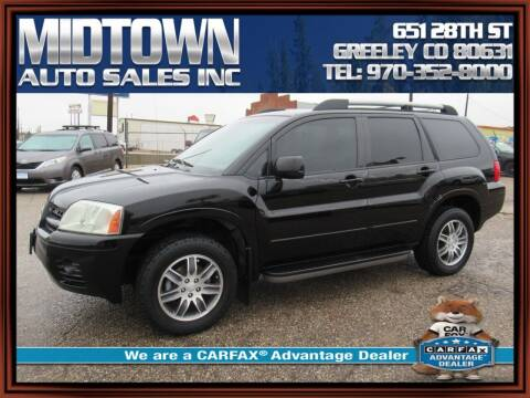 2005 Mitsubishi Endeavor for sale at MIDTOWN AUTO SALES INC in Greeley CO