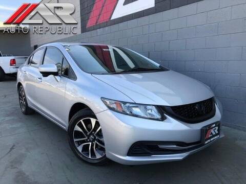 2014 Honda Civic for sale at Auto Republic Fullerton in Fullerton CA