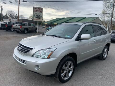 2006 Lexus RX 400h for sale at Sam's Auto in Akron PA