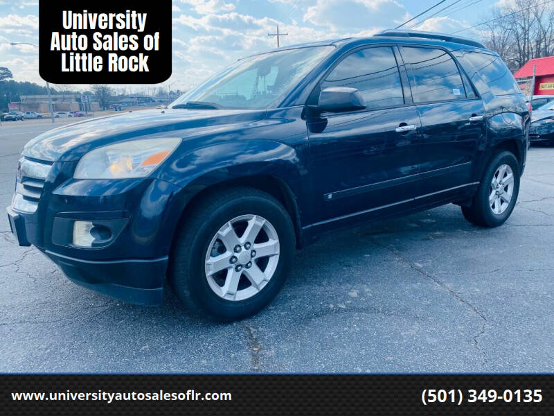 2007 Saturn Outlook for sale at University Auto Sales of Little Rock in Little Rock AR