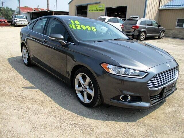 2016 Ford Fusion for sale at Northeast Iowa Auto Sales in Hazleton IA
