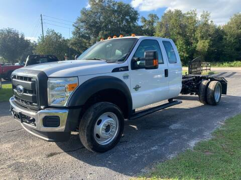 2015 Ford F-550 Super Duty for sale at Gator Truck Center of Ocala in Ocala FL