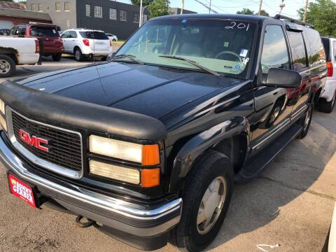 1999 GMC Suburban for sale at Sonny Gerber Auto Sales in Omaha NE