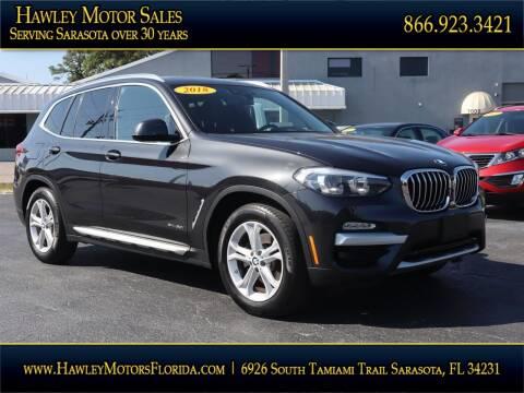 2018 BMW X3 for sale at Hawley Motor Sales in Sarasota FL