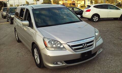 2005 Honda Odyssey for sale at Pinellas Auto Brokers in Saint Petersburg FL