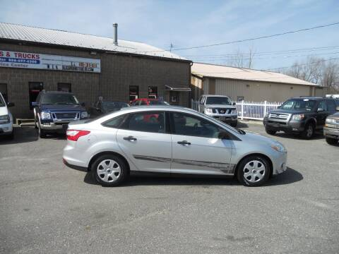 2013 Ford Focus for sale at All Cars and Trucks in Buena NJ
