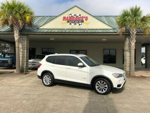 2017 BMW X3 for sale at Rabeaux's Auto Sales in Lafayette LA